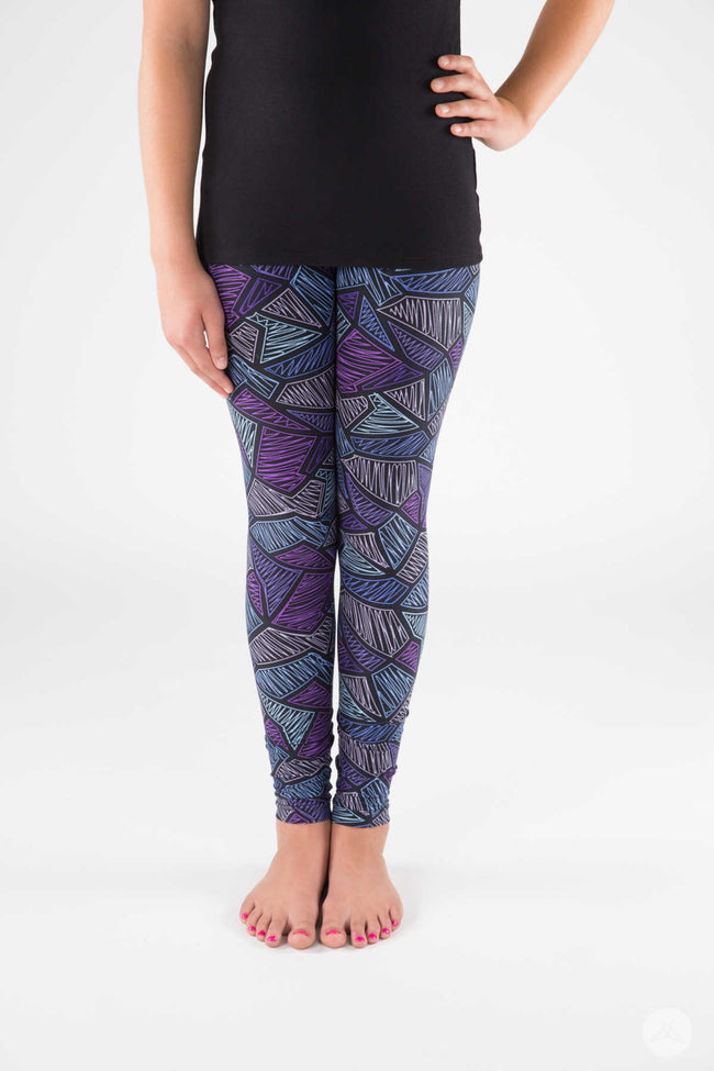 Electro Pop Kids leggings - SweetLegs