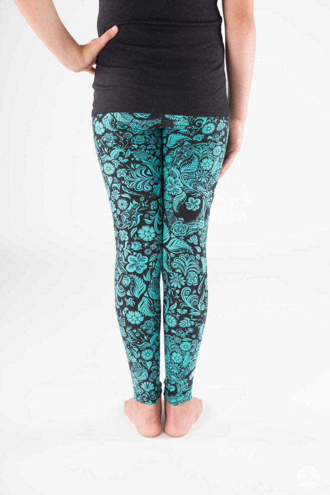 Poison Ivy Kids leggings - SweetLegs