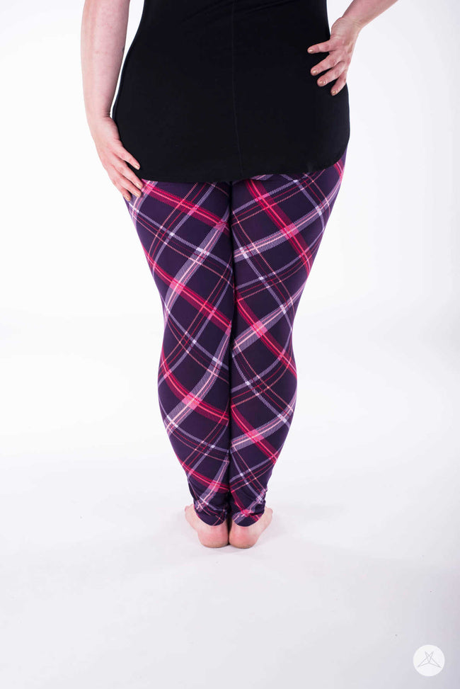 Bumbleberry Pie Plus leggings - SweetLegs