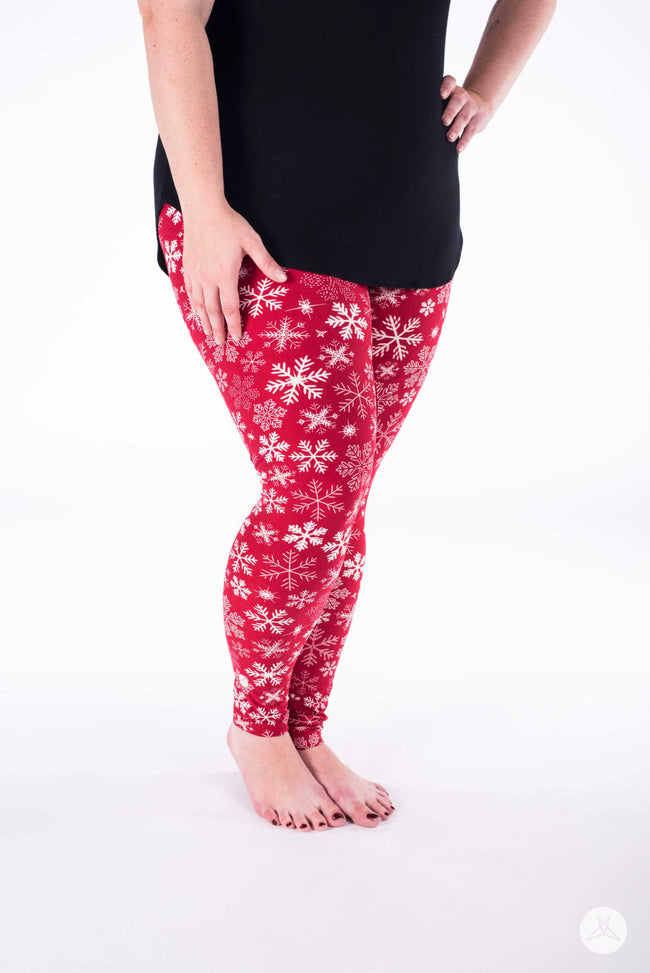 Royal North Plus leggings - SweetLegs