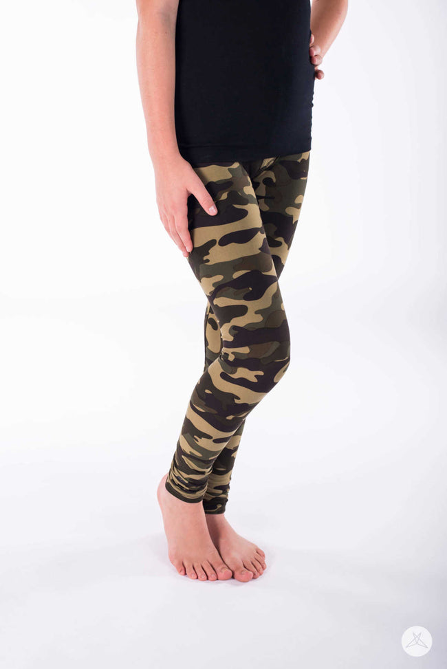 Sweet Camo Kids leggings - SweetLegs
