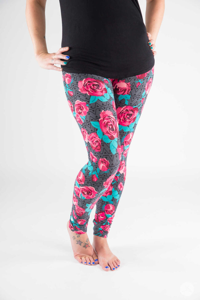 Modern Romance leggings - SweetLegs