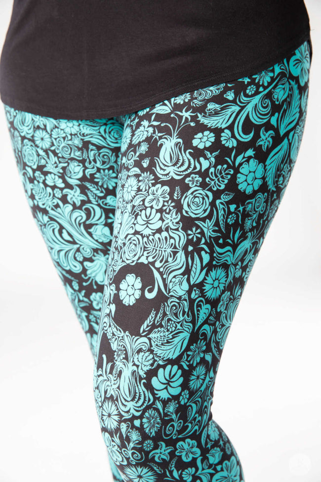 Poison Ivy leggings - SweetLegs