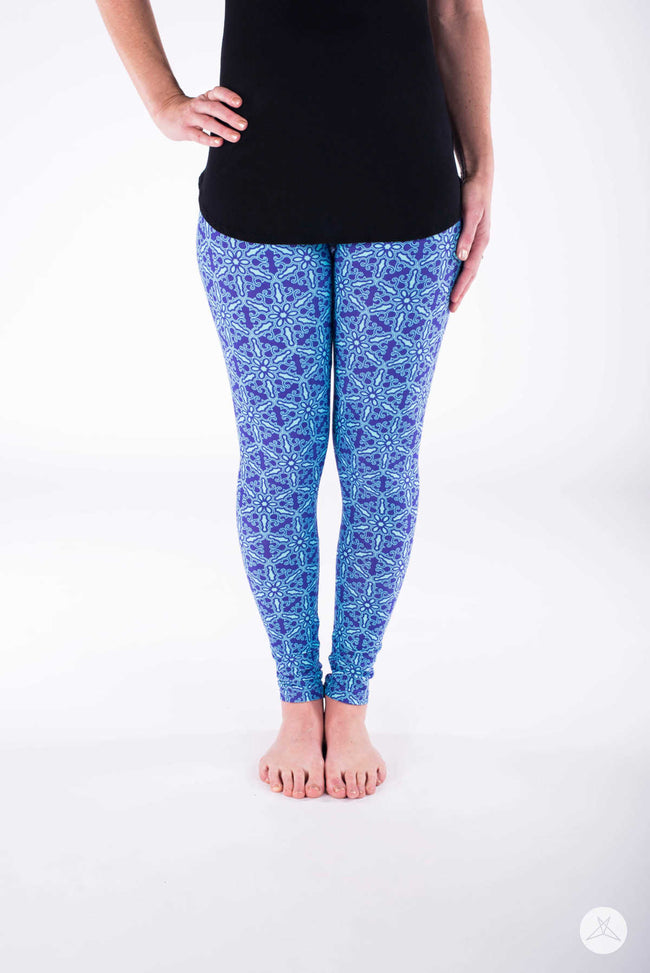 Snow Queen Petite leggings - SweetLegs