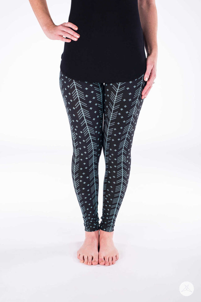 Mountain Pine Petite leggings - SweetLegs