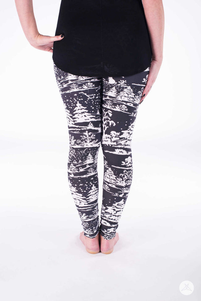 Winterscape leggings - SweetLegs
