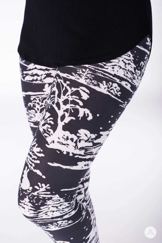 Winterscape Petite leggings - SweetLegs