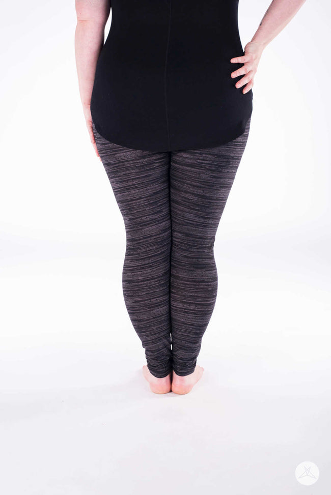 Graphite Plus leggings - SweetLegs