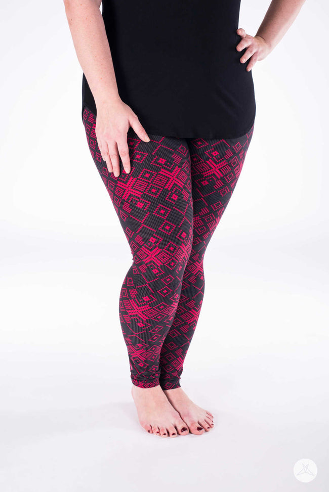 Nordic Club Plus leggings - SweetLegs