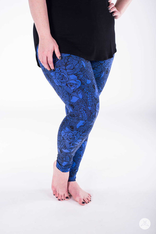 Ophelia Plus leggings - SweetLegs