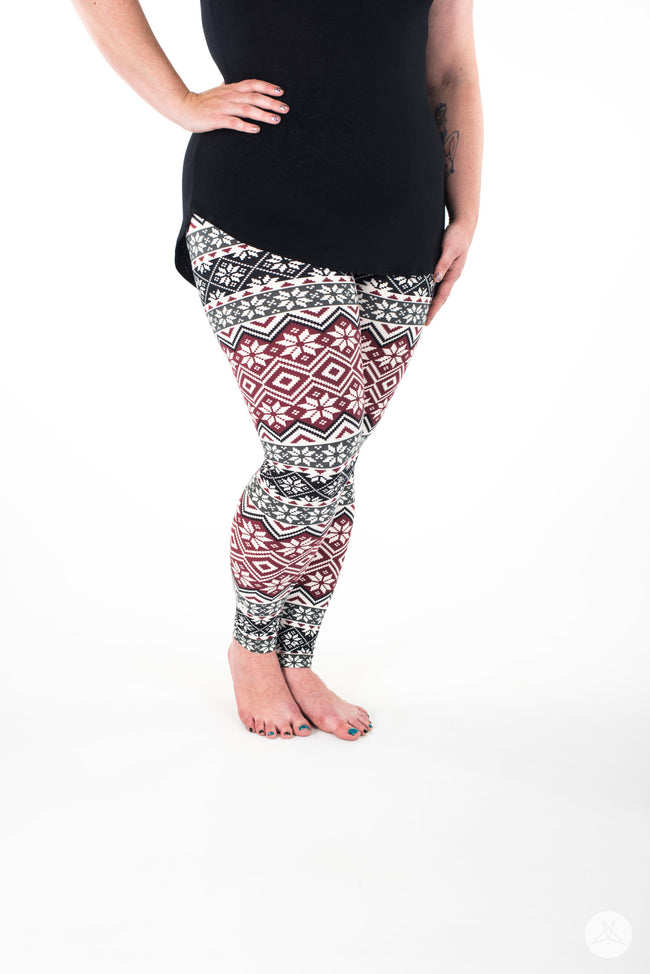 Allspice Plus leggings - SweetLegs