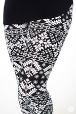 Whiteout Petite leggings - SweetLegs