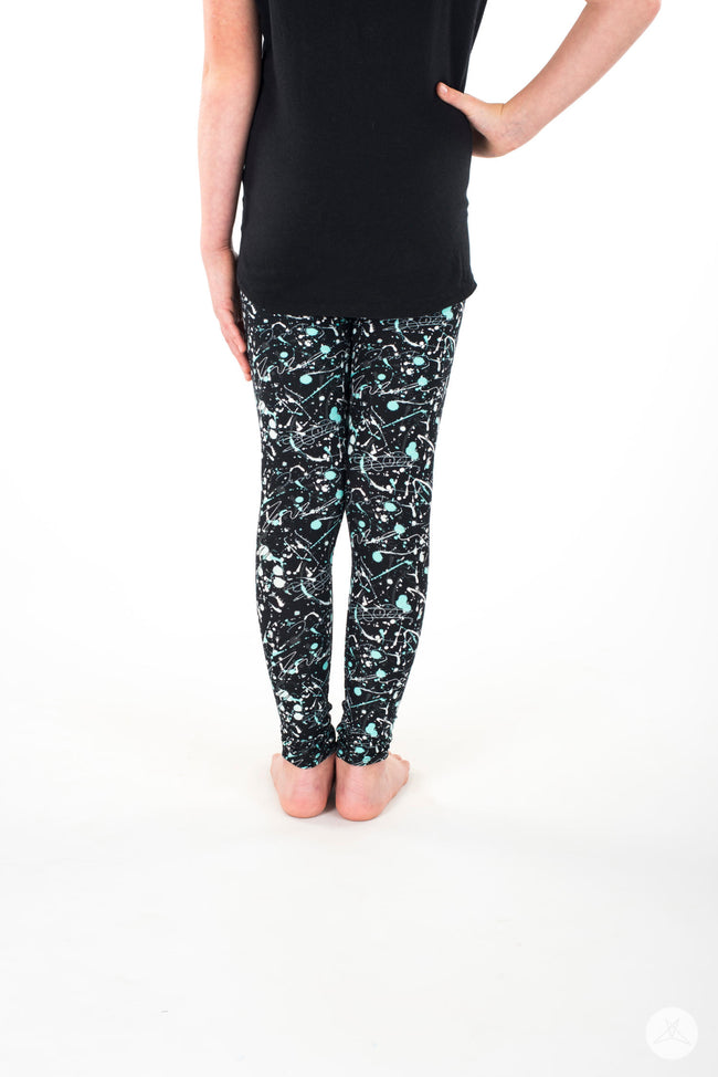 Art Attack Kids leggings - SweetLegs