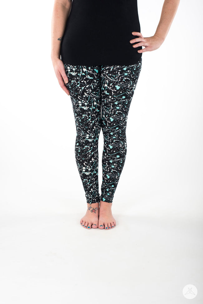 Art Attack leggings - SweetLegs