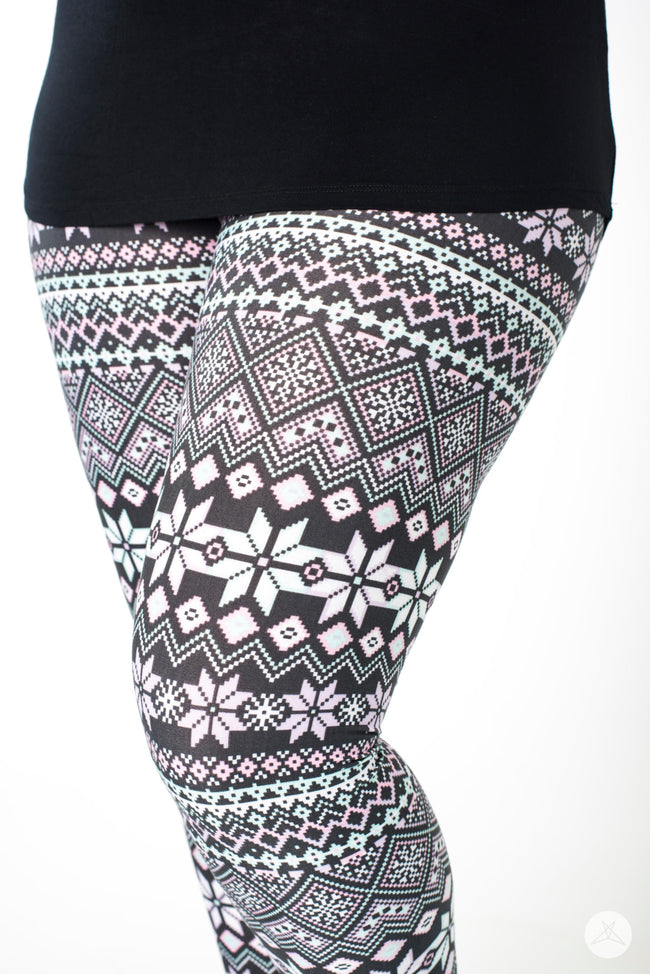 Snow Angel leggings - SweetLegs
