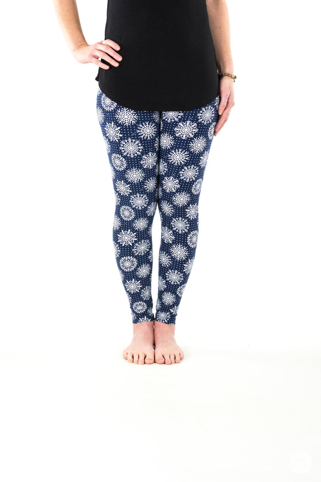 Snowy Nights Petite leggings - SweetLegs