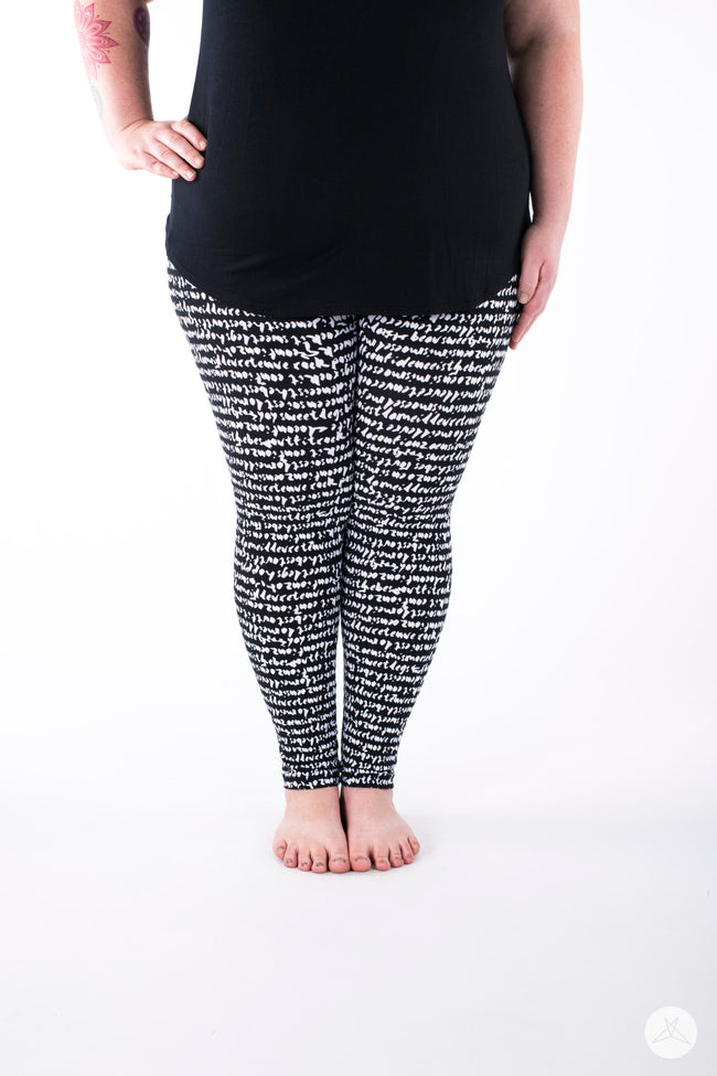 Hello Gorgeous Plus leggings - SweetLegs