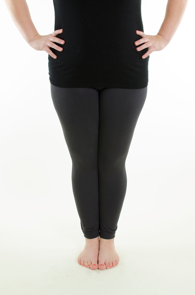 Smoke Show Fleece Plus leggings - SweetLegs