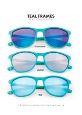 Teal Sunglasses