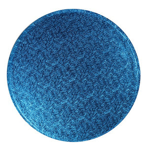 Round Dark Blue Cake Boards