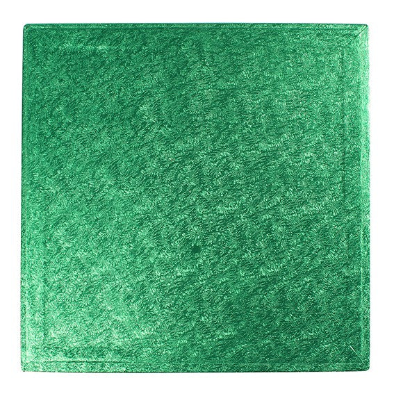 Square Green Cake Boards