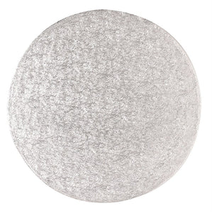 Round Silver Cake Boards