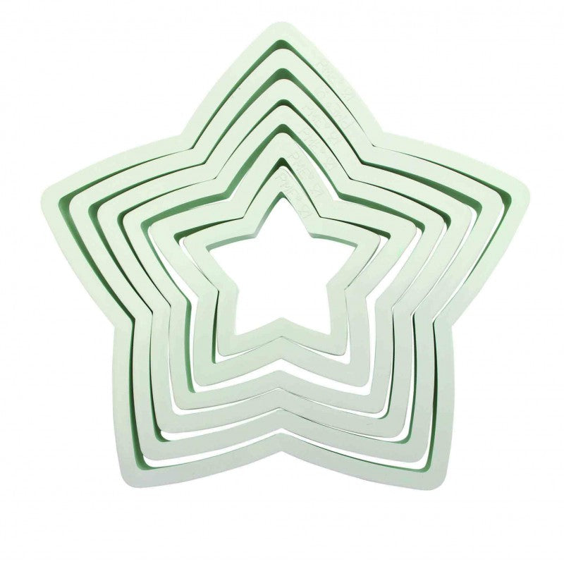 Set of 6 Star Cutters