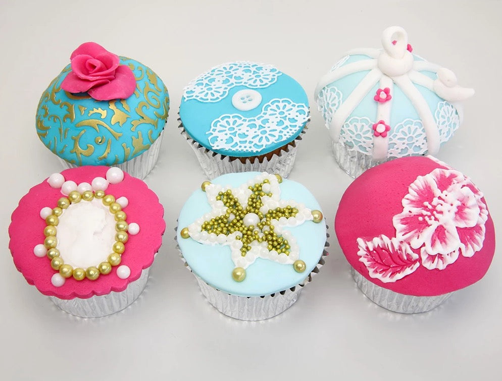 Vintage Cupcakes Class