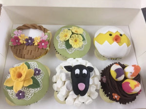 Easter Cupcakes Class
