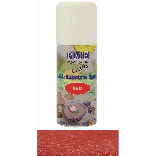 Red Edible Lustre Spray 100ml