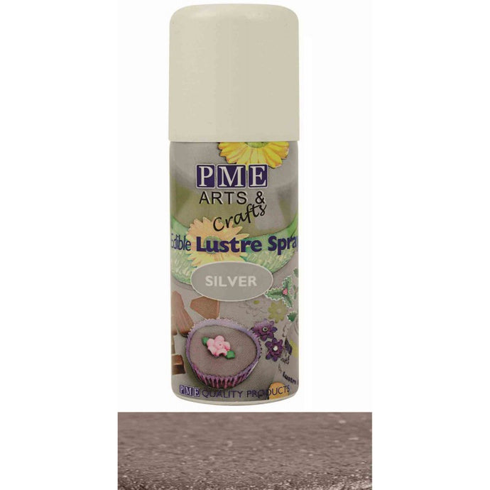 Silver Edible Lustre Spray 100ml