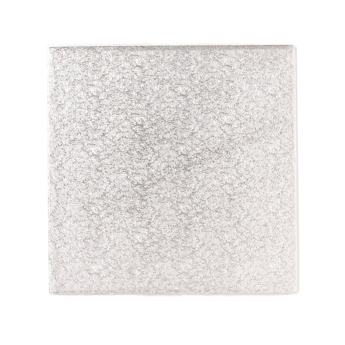 Square Silver Cake Boards