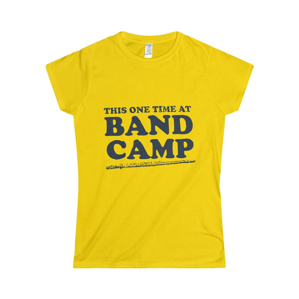 5ba26349 Women's American Pie This One Time At Band Camp T-Shirt
