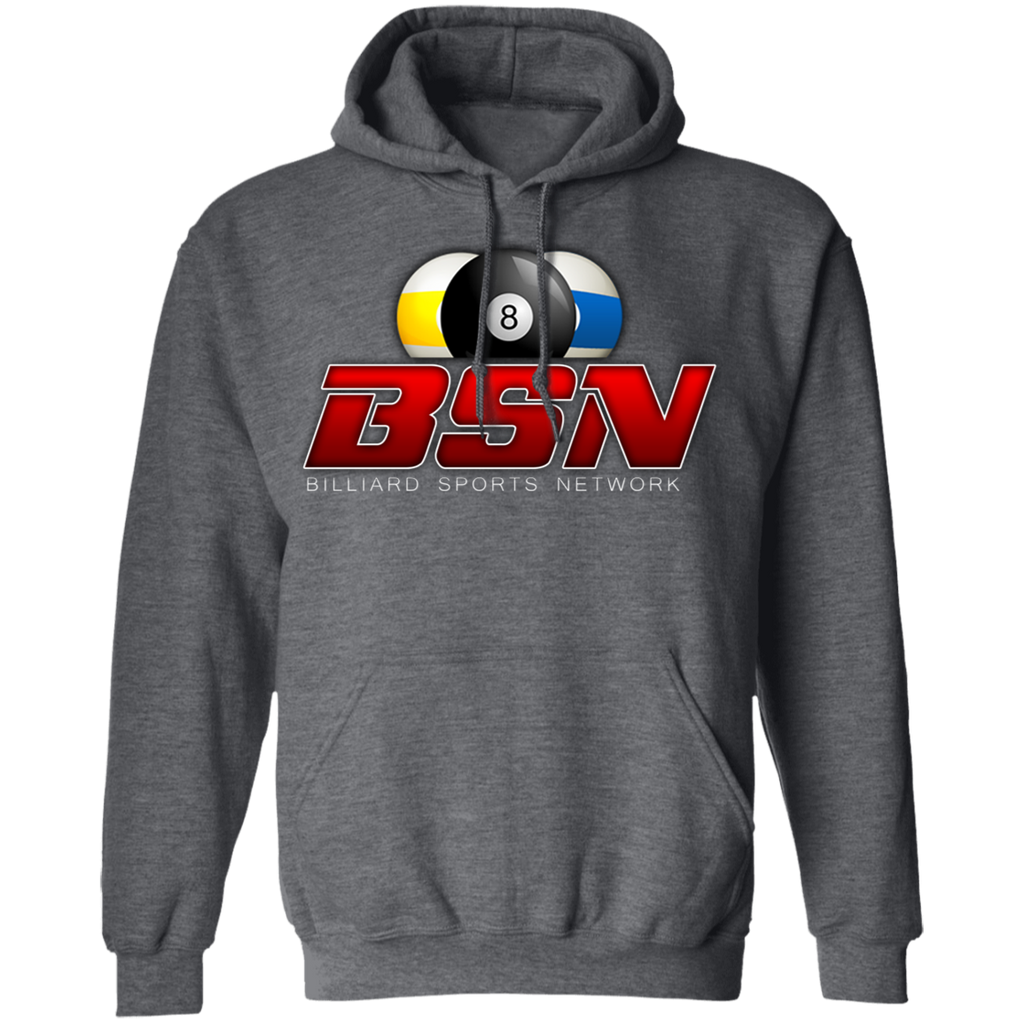 Billiard Sports Network Pullover Hoodie 8 oz. - Lights Out Billiards Apparel