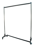 Powder Coating Rack, High Heat 525° F, 5-ft Z Base, 5-ft Uprights, , 1 Rail