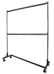 Paint Rack, Ovenproof to 525° F, 6-ft Base, 6-ft Uprights, 2 Hang Rails