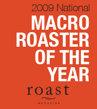 PT's Coffee Roasting Co. - Roaster of the Year 2009