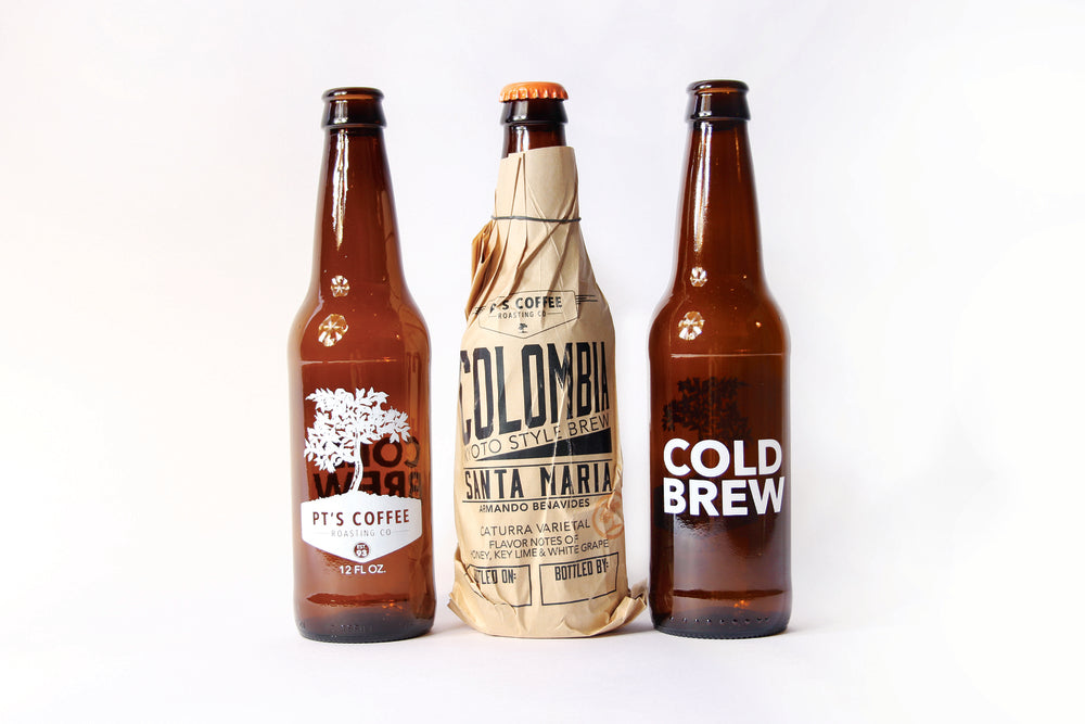 PT's Cold Brew Packaging