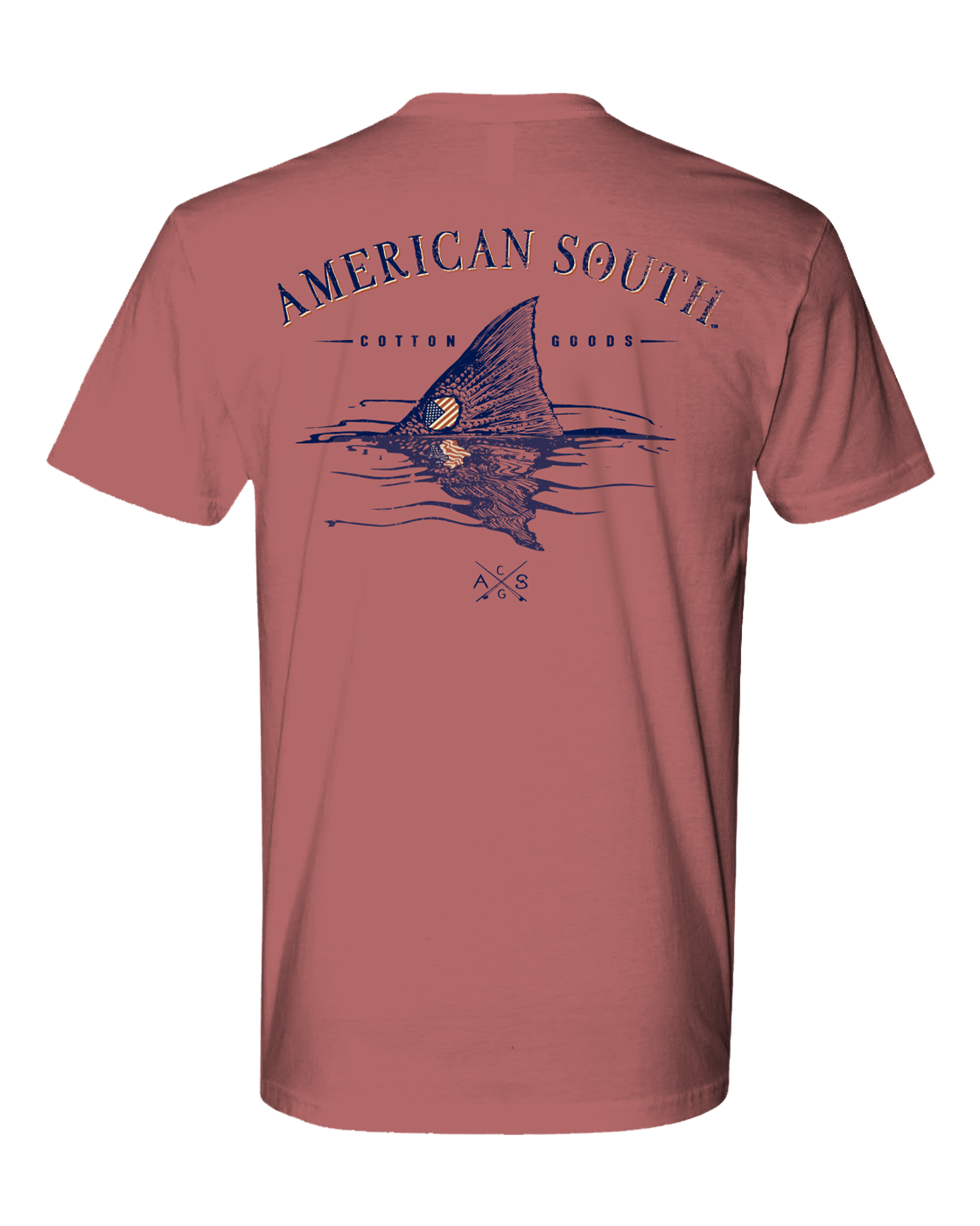 American South -Tailing Red-