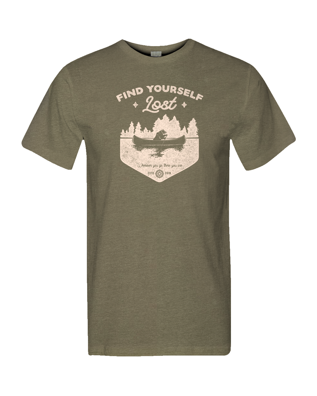Find Yourself Lost ~ Paddling Bear tee