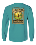 American South - Sweet Georgia Greens-Long Sleeve tee