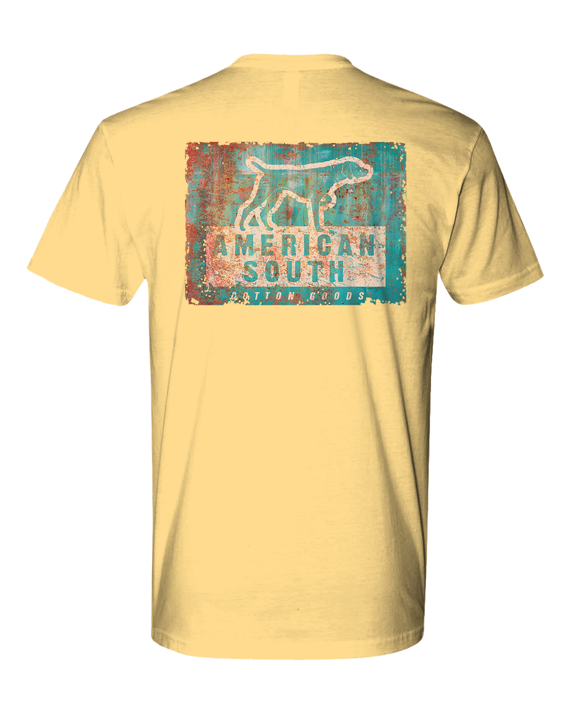 American South -Vintage Tin Pointer-