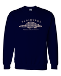 AVAILABLE NOW! Plaidypus Sweatshirt