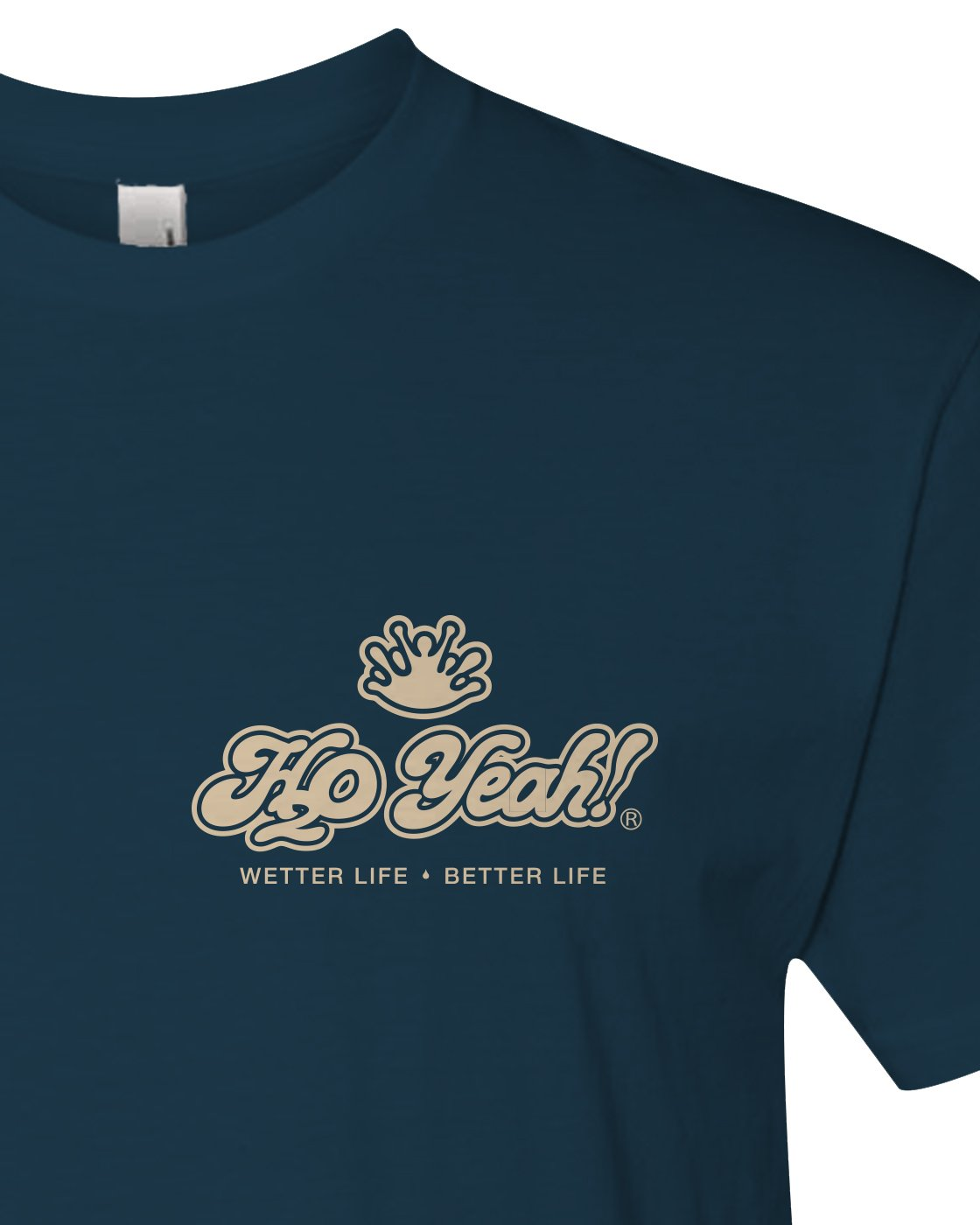 "H2o Yeah! ""Not all Who Wander"" tee"
