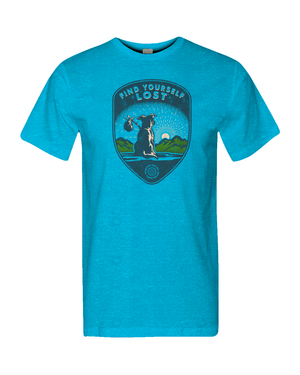 Find Yourself Lost ~ Hobo Pup tee
