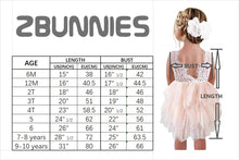 2BUNNIES Girl Rose Lace Back 3 Tiered Long Sleeve Dress (White)