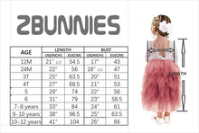 2BUNNIES Girl Peony Lace Back 5 Tiered Long Sleeve Maxi Dress (Pink)