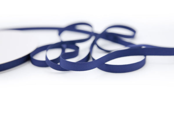 "3/8"" Navy Blue Ribbon"