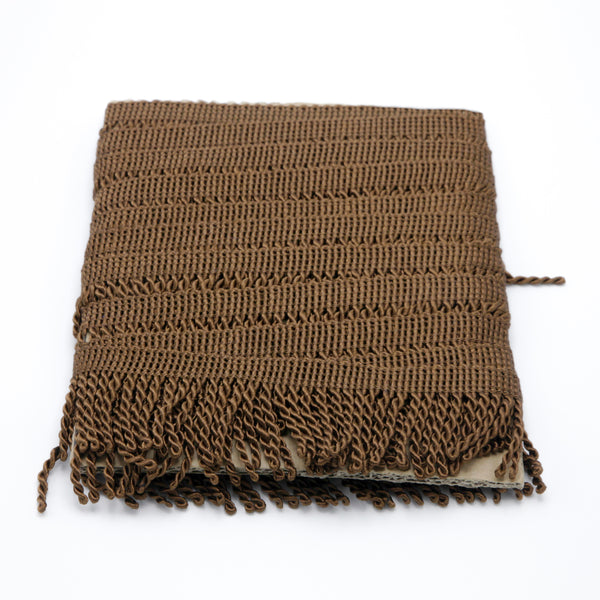 Brown Bullion Fringe
