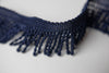 "1.5"" Navy Blue Bullion Fringe"